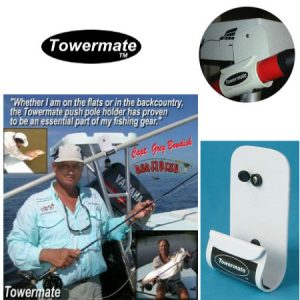 ToweMate™ The original tower mounted push pole holder Made In The U.S.A.